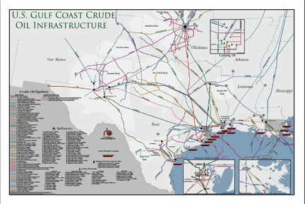 Hot Legs Crude Oil Shuttle Pipelines In The Permians Delaware - Map of oil pipelines in the us