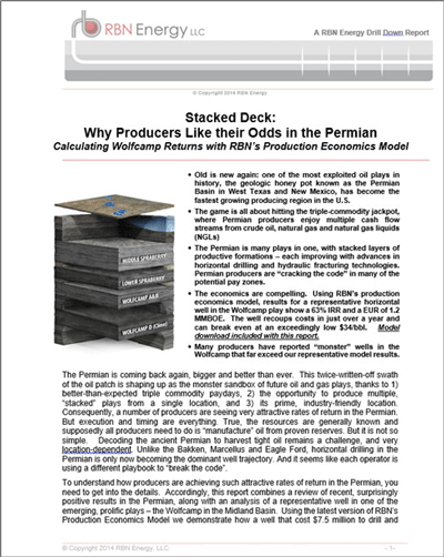 Stacked Deck: Why Producers Like their Odds in the Permian