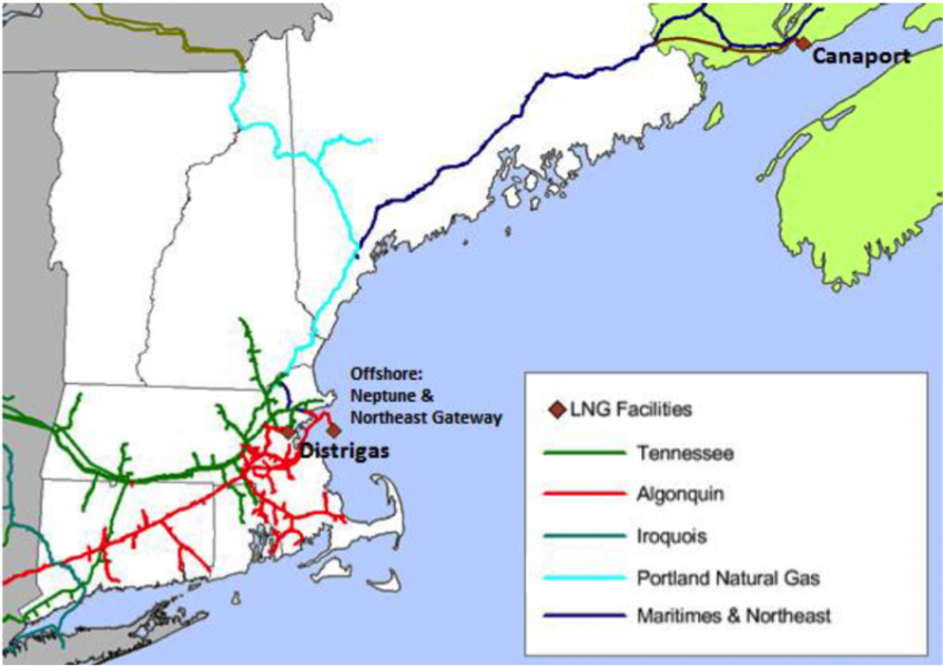Dont Give Up On UsCan Oil And Imported LNG Save New England - Us iso map