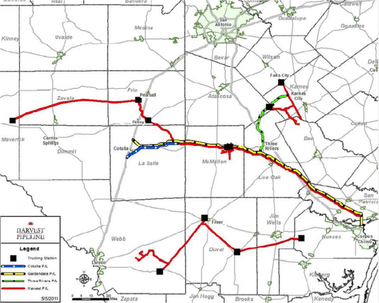Condensate City – Eagle Ford Crude Infrastructure – Part 4